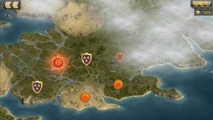 Artillerists: Map of the island