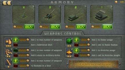 Artillerists: Armory